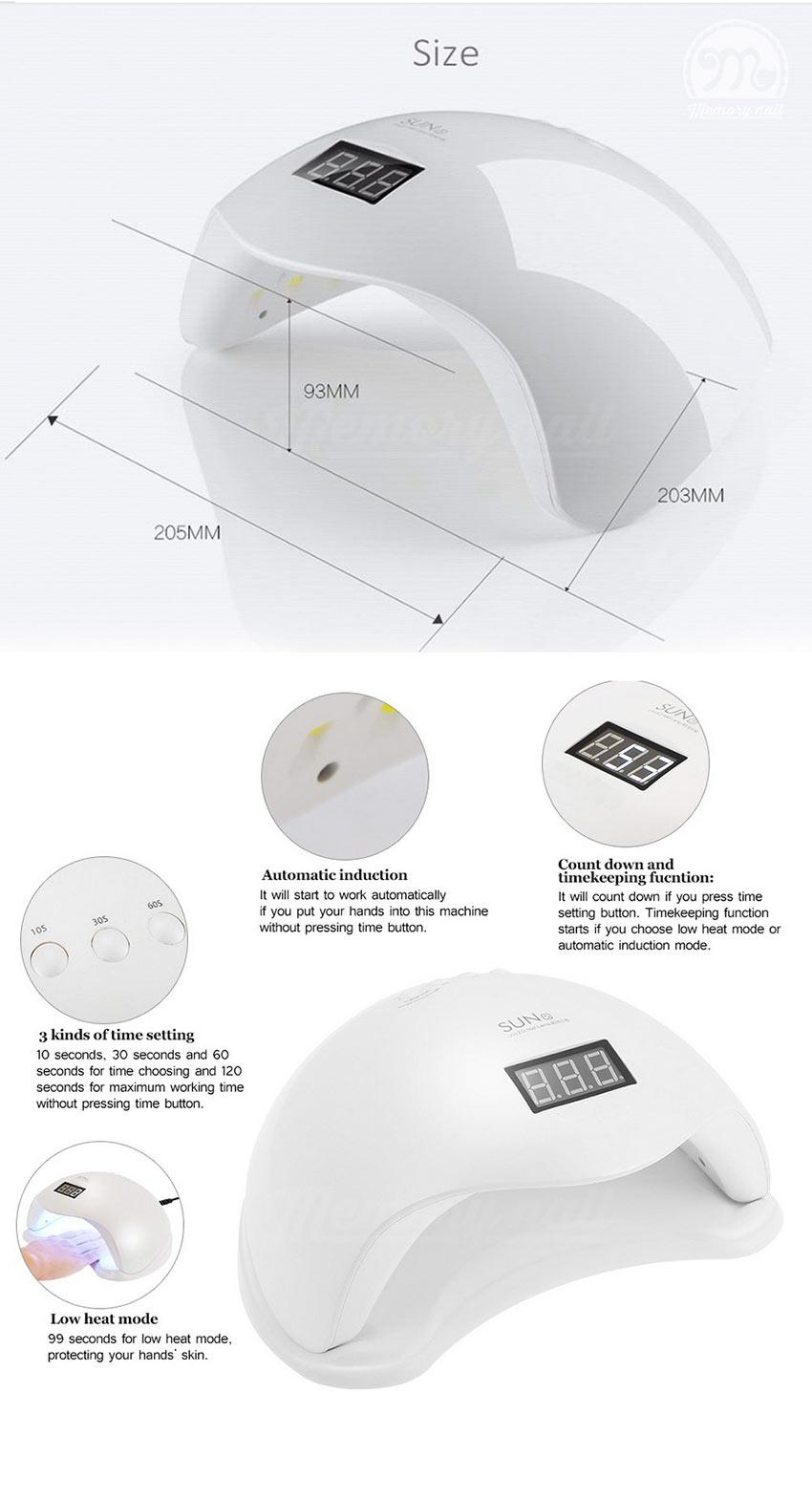 เครื่องอบเจล LED SUN 5,LED SUN 5,เครื่องอบเจล,LED SUN,เครื่องอบสีเจล,ที่อบสีเจล,อบเจล,อบสีเจล