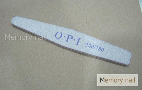 ตะไบ OPI ใส้ม่วง ทรงเหลี่ยม