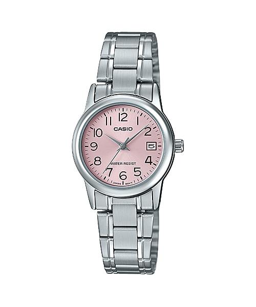นาฬิกา Casio STANDARD Analog-Ladies' รุ่น LTP-V002D-4B ของแท้ รับประกัน 1 ปี