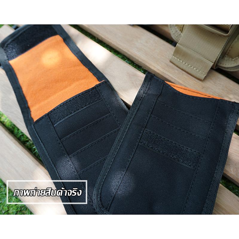 กระเป๋าร้อยเข็มขัด เป้นกระเป๋าที่สามารถคล้องกับกระเป๋าแบ็คแพ็คใบใหญ่ได้ ร้อยเข็มขัด ใส่มือถือ และใส่เงิน สามารถใช้แทนกระเป๋าตังค์ได้
