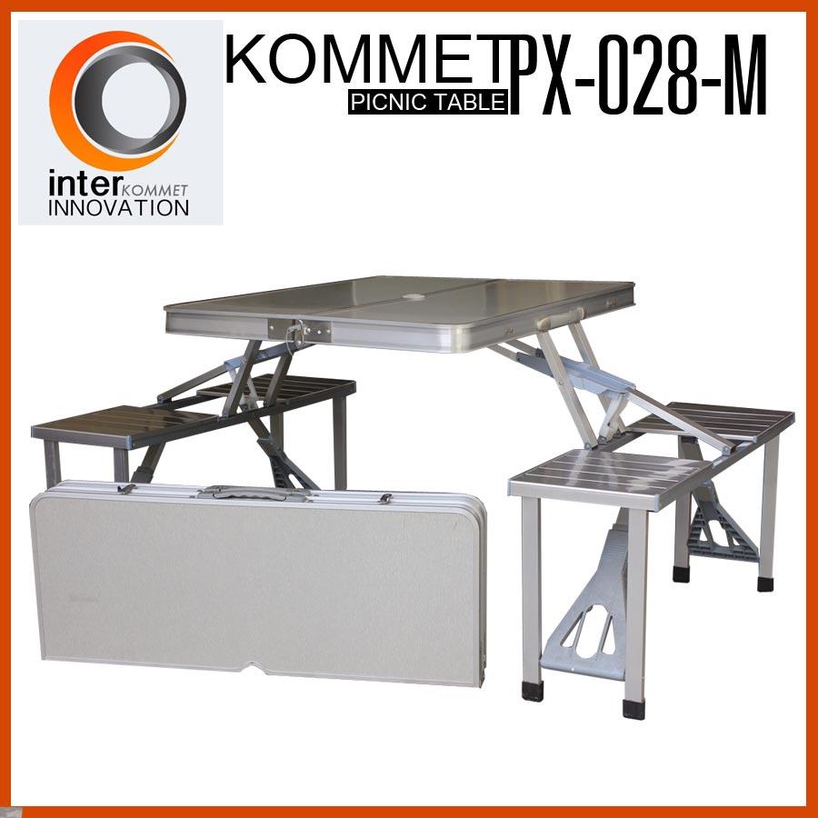 โต๊ะปิกนิกพับได้ KOMMET รุ่น PX-028-M