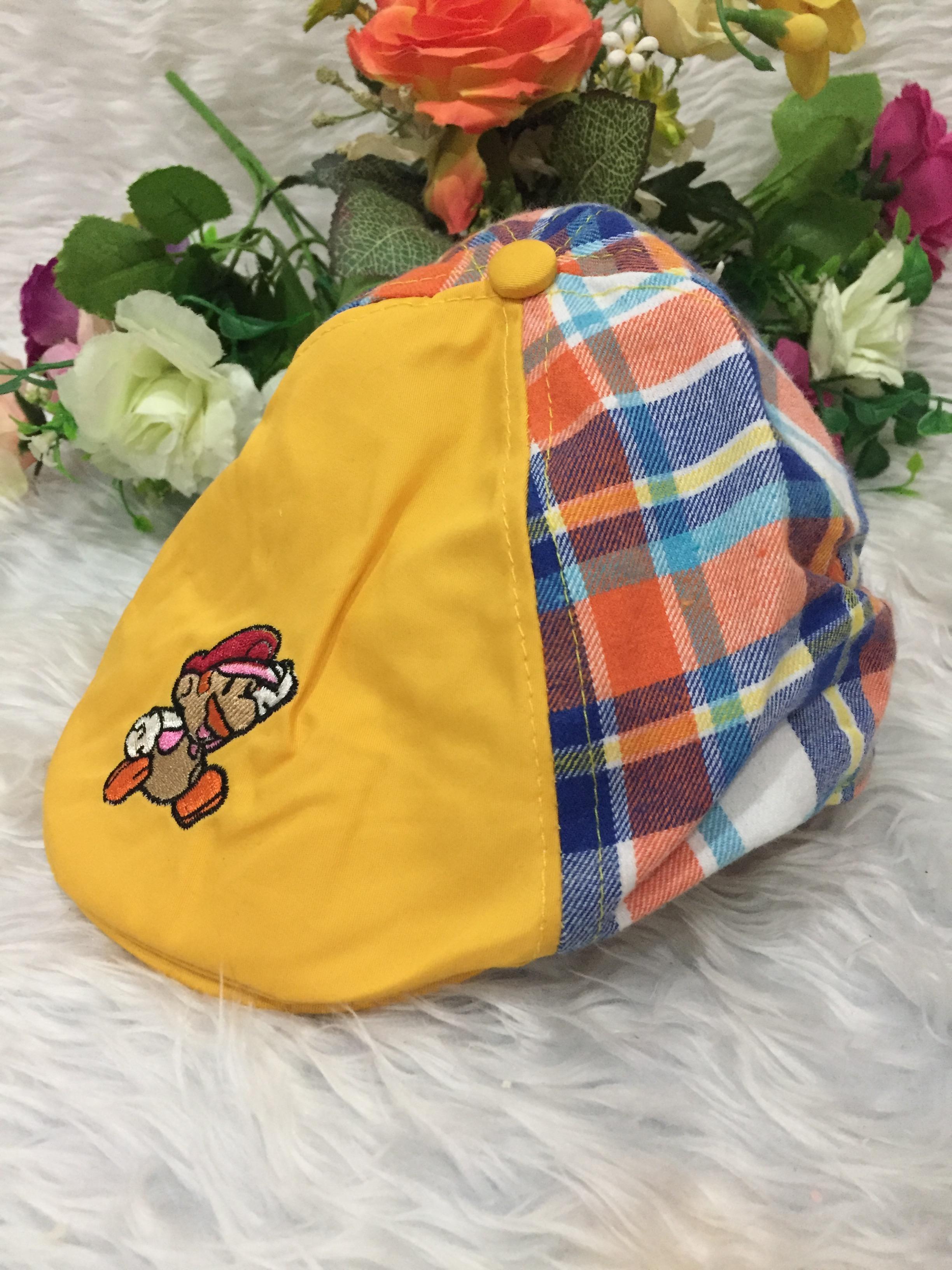 หมวกทรงเบสบอล-แต่งลายมาริโอ้