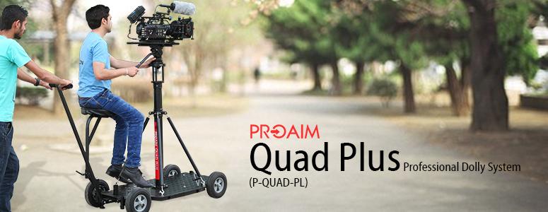 Proaim Quad Plus Professional Dolly System (P-QUAD-PL)
