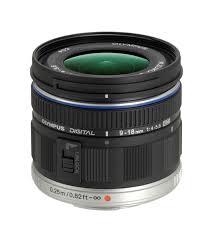 Olympus EZM0918 9-18mm F4.0-5.6 Wide Zoom Lens
