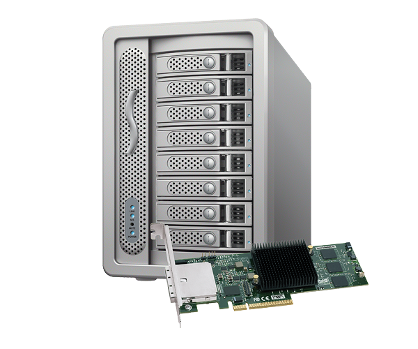 Fusion DX800RAID with PCIe Controller (16TB)