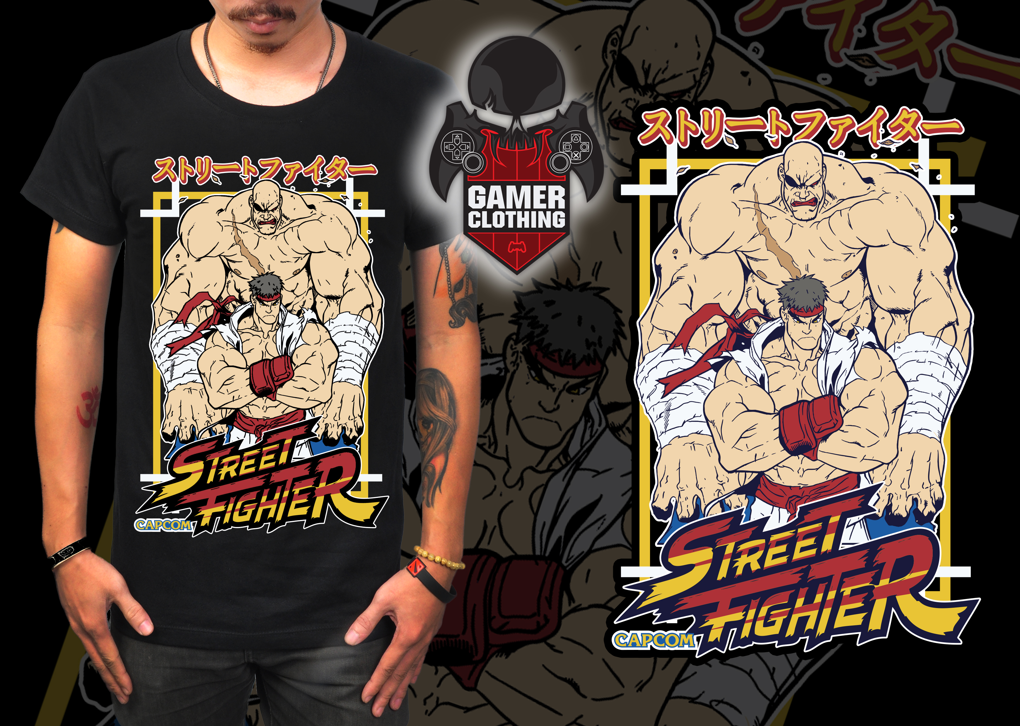 StreetFighter 2 T-Shirt
