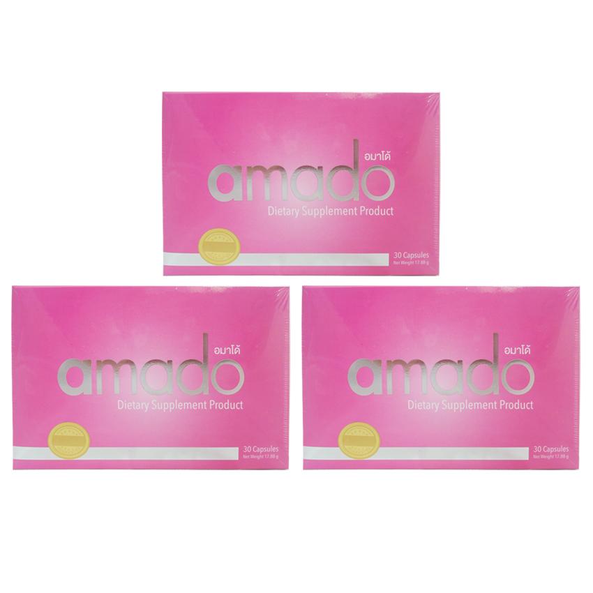 Amado อมาโด้ อาหารเสริมผู้หญิง ของแท้ ราคาถูก ปลีก/ส่ง โทร 089-778-7338-088-222-4622 เอจ