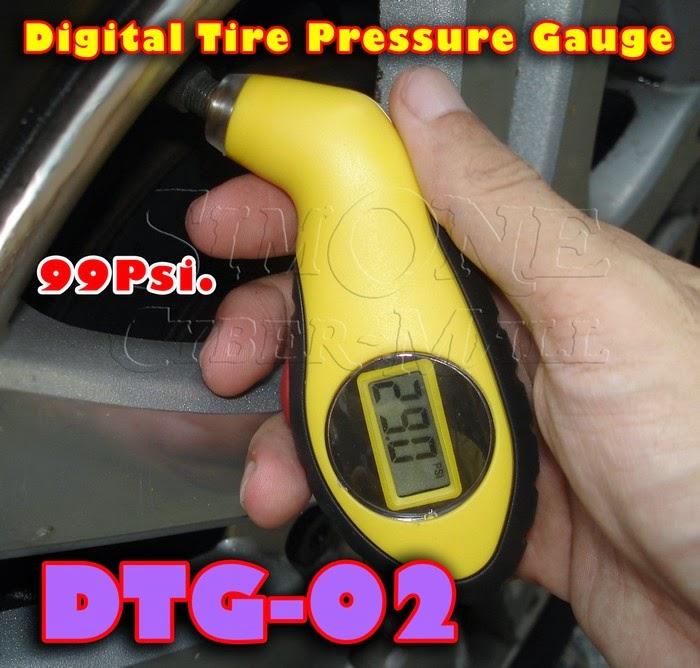 DTG-02 – Digital Tyre Pressure Gauge