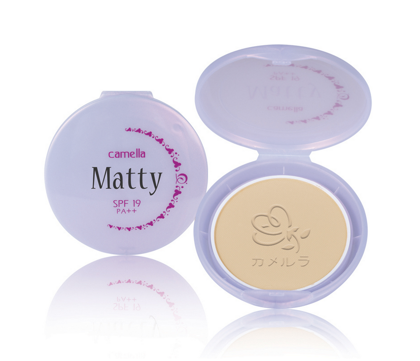 Camella Matty 2-Way Powder Cake SPF19 PA++ Refill