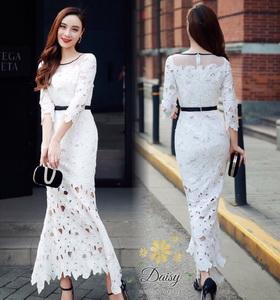 เสื้อผ้าแฟชั่นเกาหลีสีขาว
