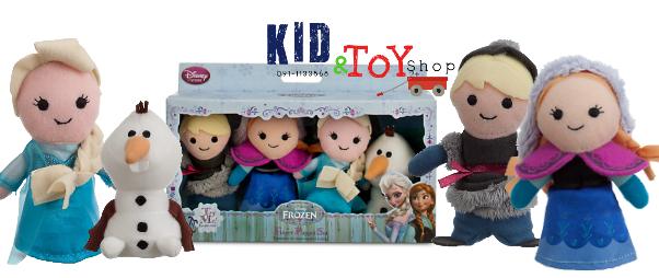 ตุ๊กตาหุ่นนิ้วมือ Frozen Finger Puppet Set [Disney USA]