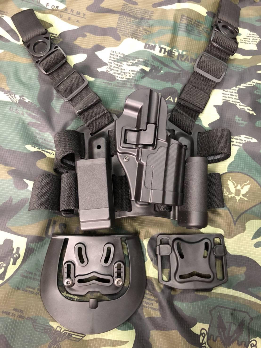 New.ชุดซองปืน SIG P320sp รัดต้นขา ราคาพิเศษ