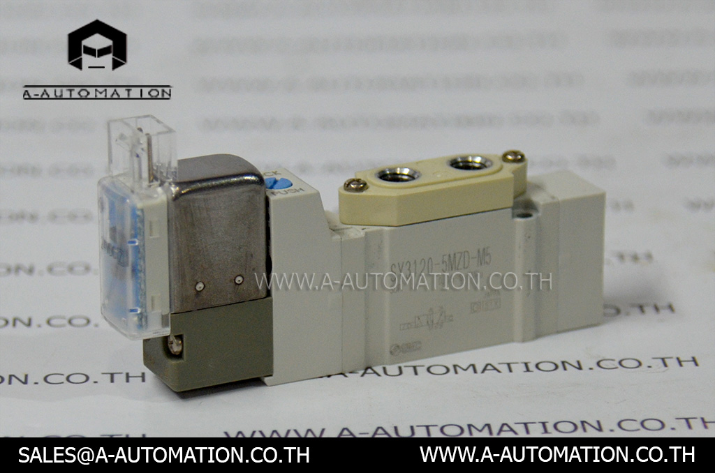 Soleniod Valve SMC Model:SY3120-5MZD-M5 (สินค้าใหม่)