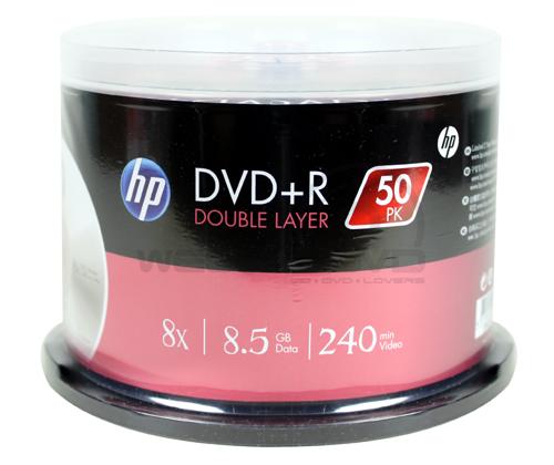 HP DVD+R DL 8X (50 pcs/Cake Box)