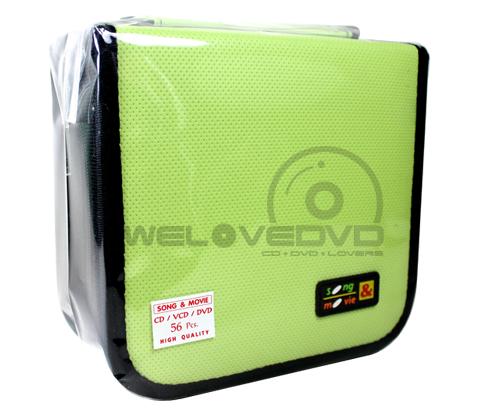 Cloth 56 Disc Capacity CD Wallet (1 PCS)