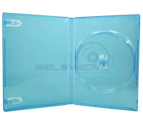 1 Disc DVD Case Blue Clear (10 Boxs)