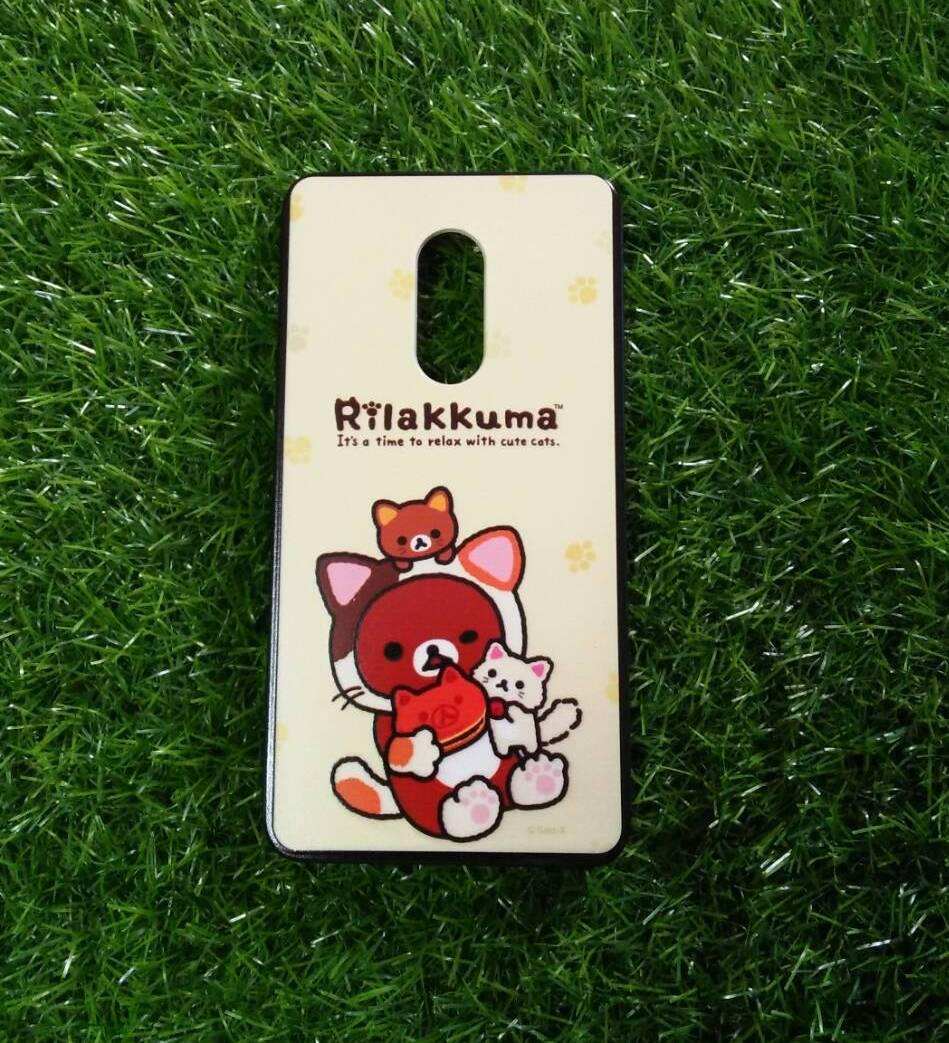 TPU ลายเส้นนูนคามุกินขนม Redmi Note4
