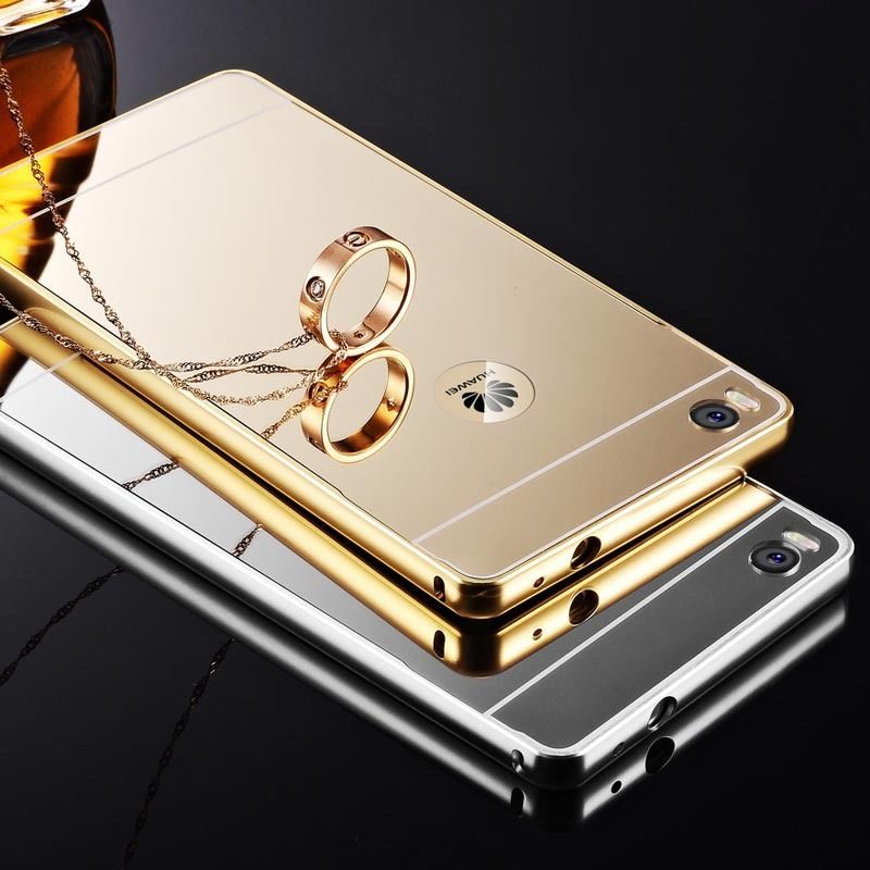 BP.อลูมิเนียมหลังสไลด์ Mirror Huawei P8
