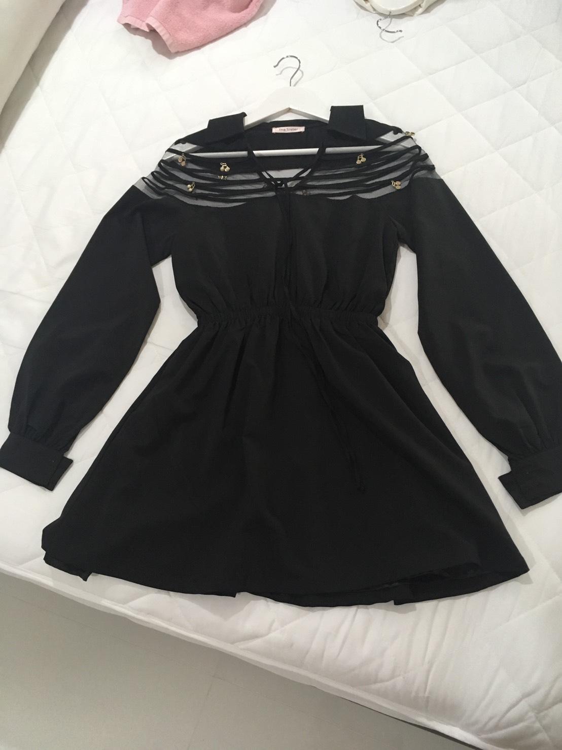 ชุดเดรสดำ