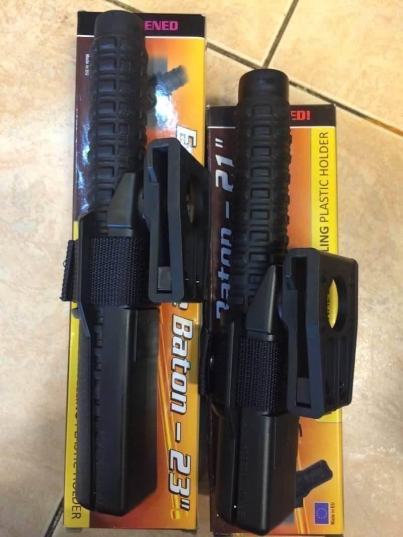 """New.ดิ้ว ESP Expandable Baton Made in E.U. ขนาด 21"""" / 23"""" มาพร้อมซองโพลีเมอร์ แข็งแกร่ง ทนทาน พกพาสะดวก พกไว้ติดตัวก็ง่าย ราคาพิเศษ"""