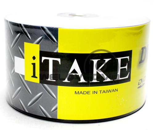 iTake DVD-R 16X Silver (50 pcs/Plastic Wrap)