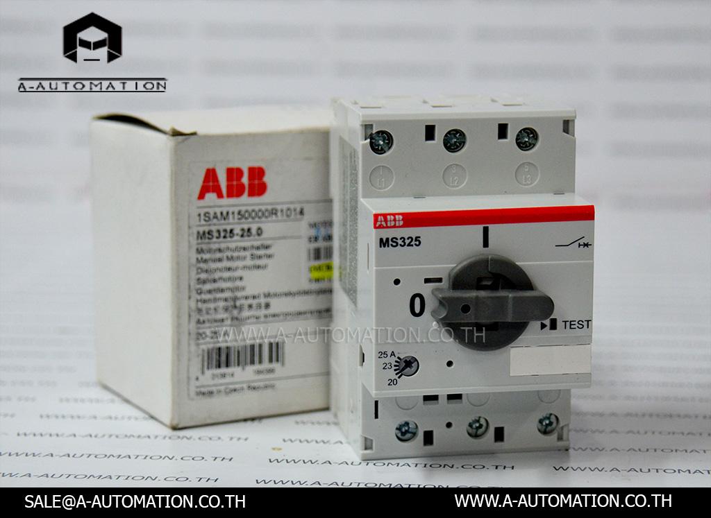 Motor Circutt Breaker ABB Model:MS325-25.0,2