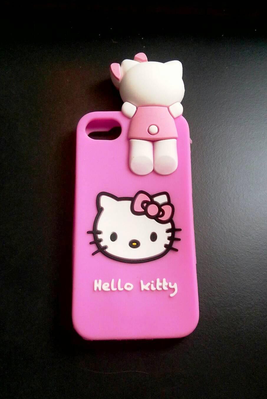 ซิลิโคนแมวชมพู เกาะหลัง iphone7/iphone8(ใช้เคสตัวเดียวกัน)