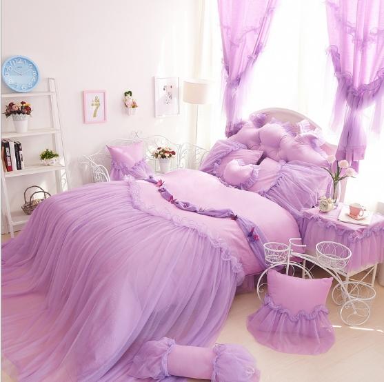 Pre-order ผ้าปูที่นอนเจ้าหญิง มี 2 สี เลือกสีด้านในค่ะ