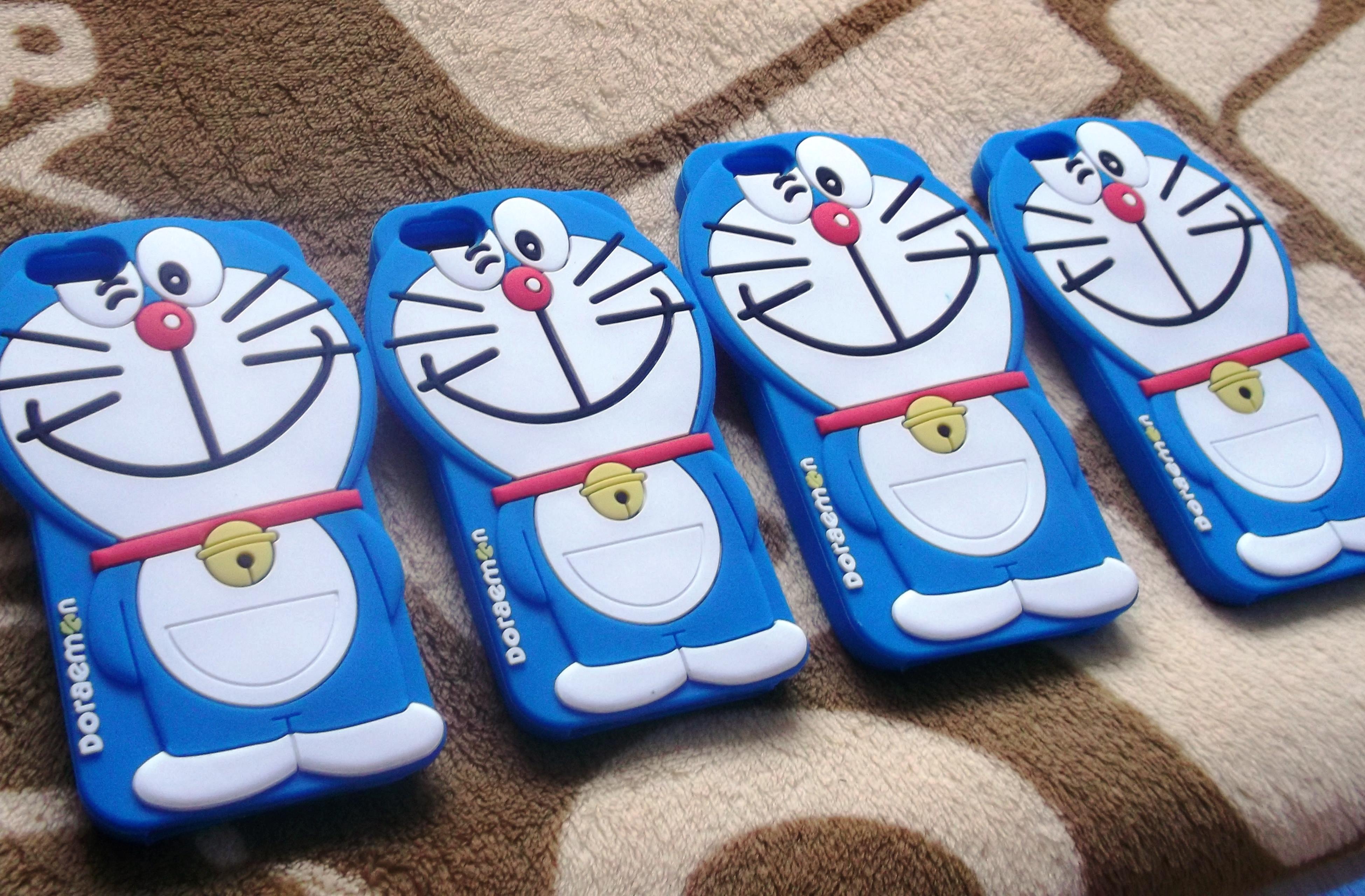 ซิลิโคนแมวสีฟ้าเต็มตัว iphone5/5s