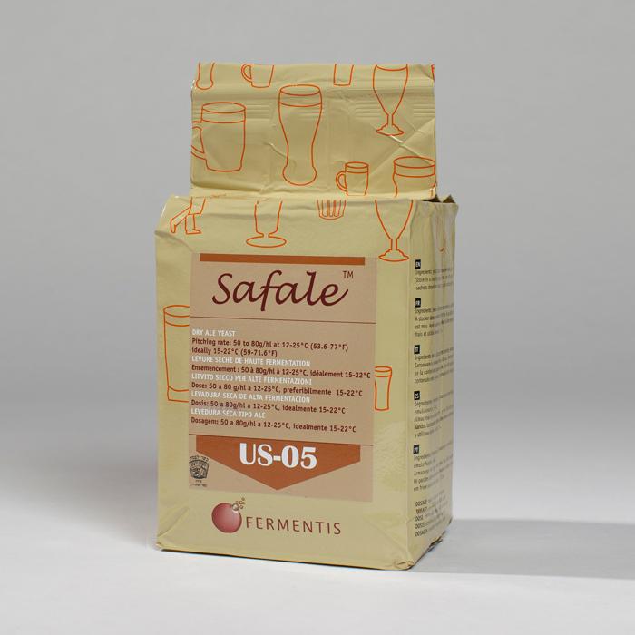 Safale US-05 (Ale) 500 g.
