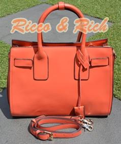 กระเป๋าหนังแท้ Moderno - OldRose