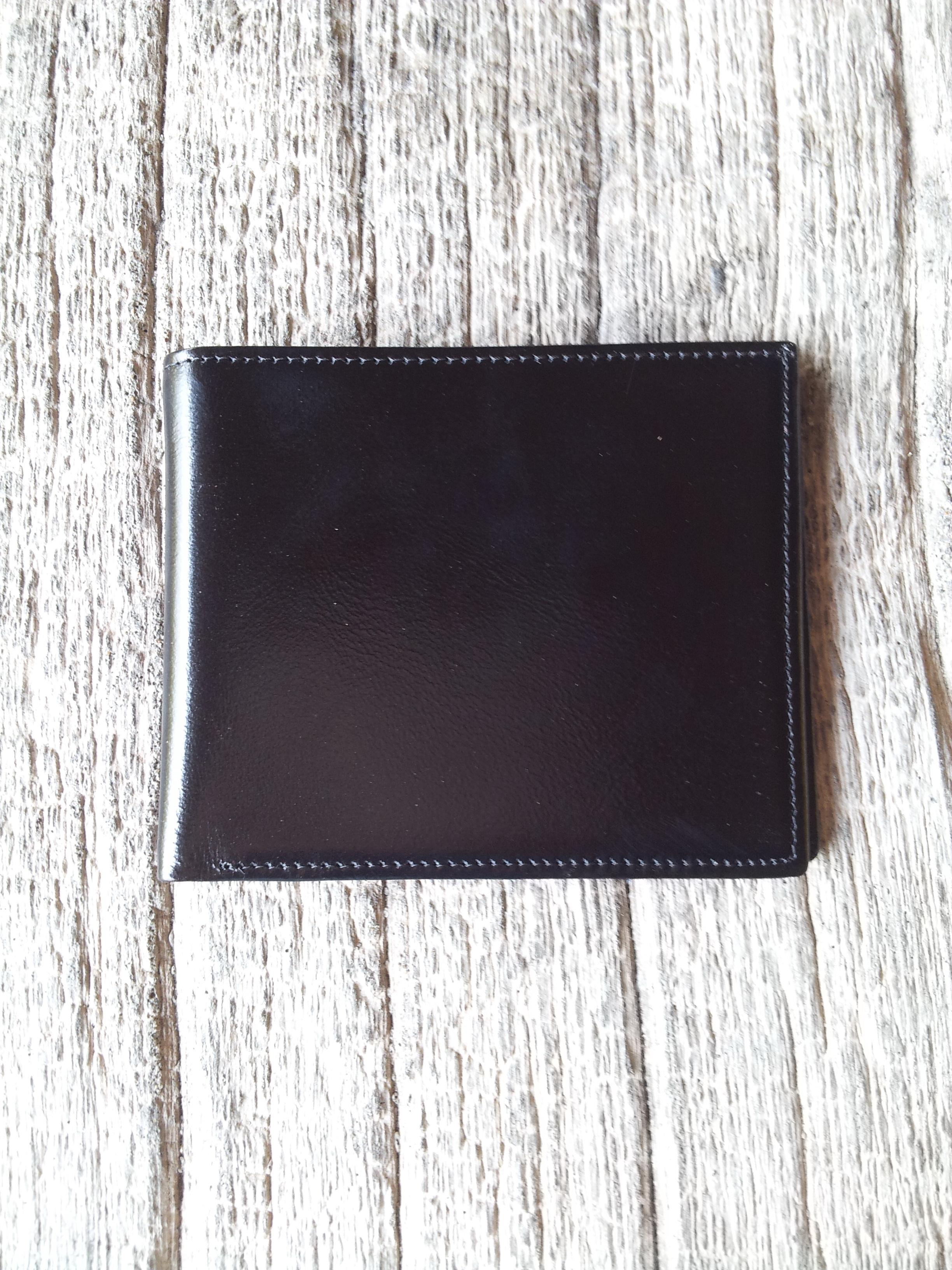 กระเป๋าสตางค์ชาย รุ่น Boss สีดำ