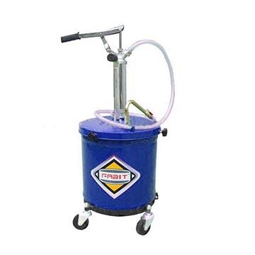 ถังเติมน้ำมันหล่อลื่นแบบมือโยก รุ่น 32035 (40 ลิตร)