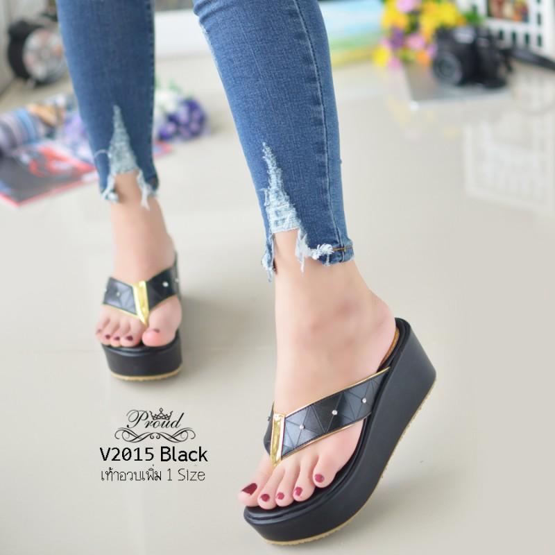 รองเท้าแตะทรงคีบสีดำ เปิดส้น ISSEY MIYAKE BAO BAO (สีดำ )