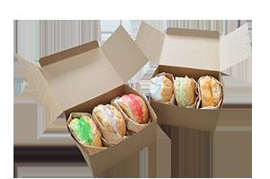 กล่องขนมปัง 20 ชิ้น/แพ็ค