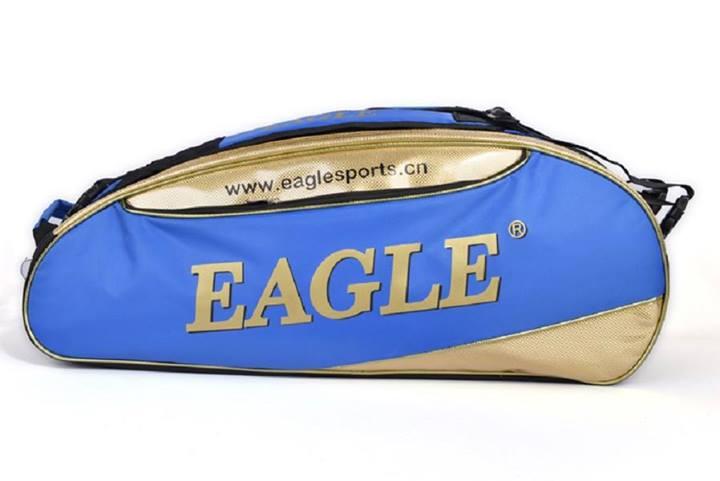 กระเป๋าEagle ใบกลางสีน้ำเงินทอง