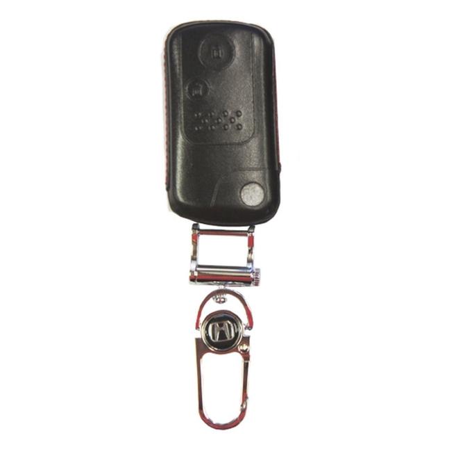 WASABI กุญแจซองหนัง 4DX Luxurious Honda Crv 4WD 2014 (ดำ)