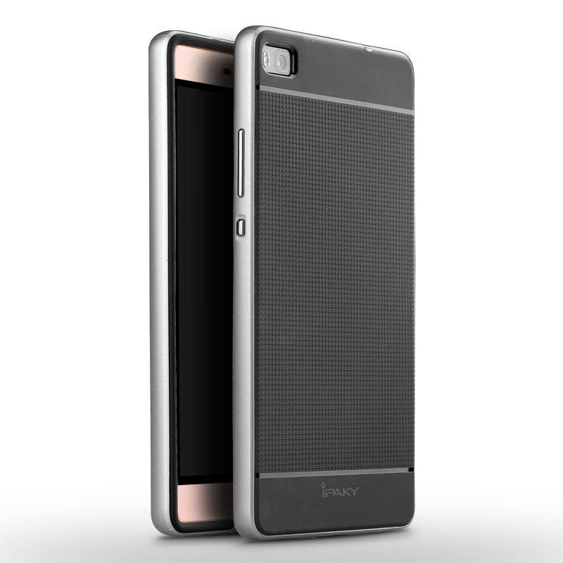 iPAKY Case Huawei P8 (Silver)
