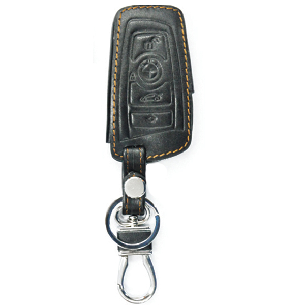 WASABI ซองกุญแจหนัง 3D รุ่น BMW SERIES 5,7 (สีดำ)
