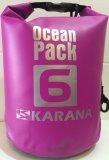 กระเป๋ากันน้ำ Ocean Pack 6L-สีม่วง