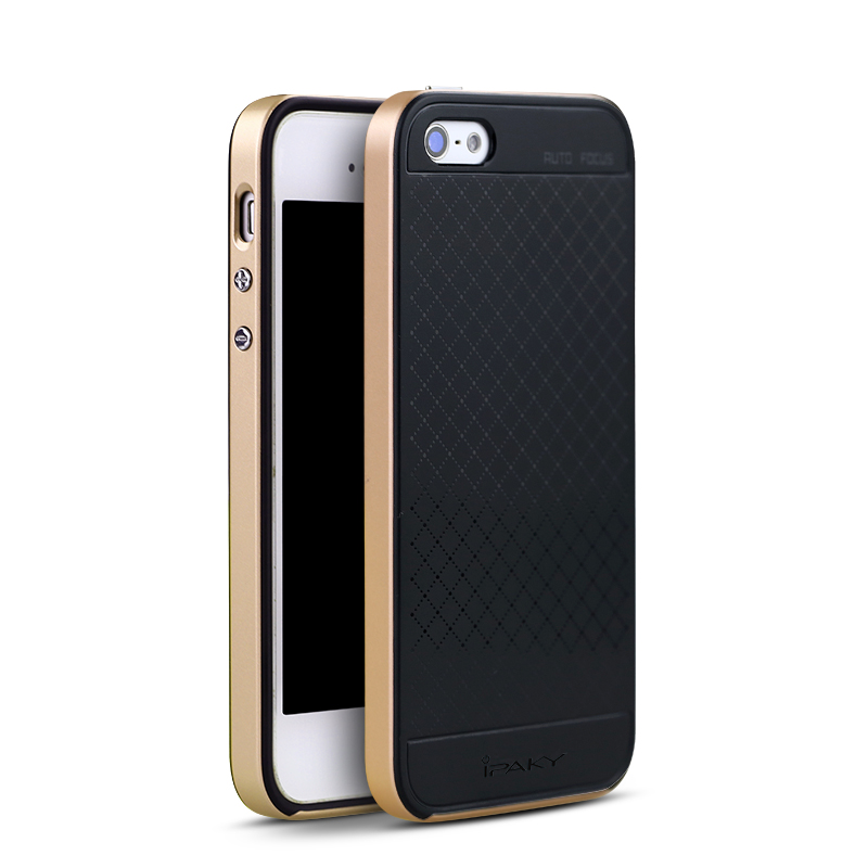 IPAKY CASE iPhone 5 SE- Gold