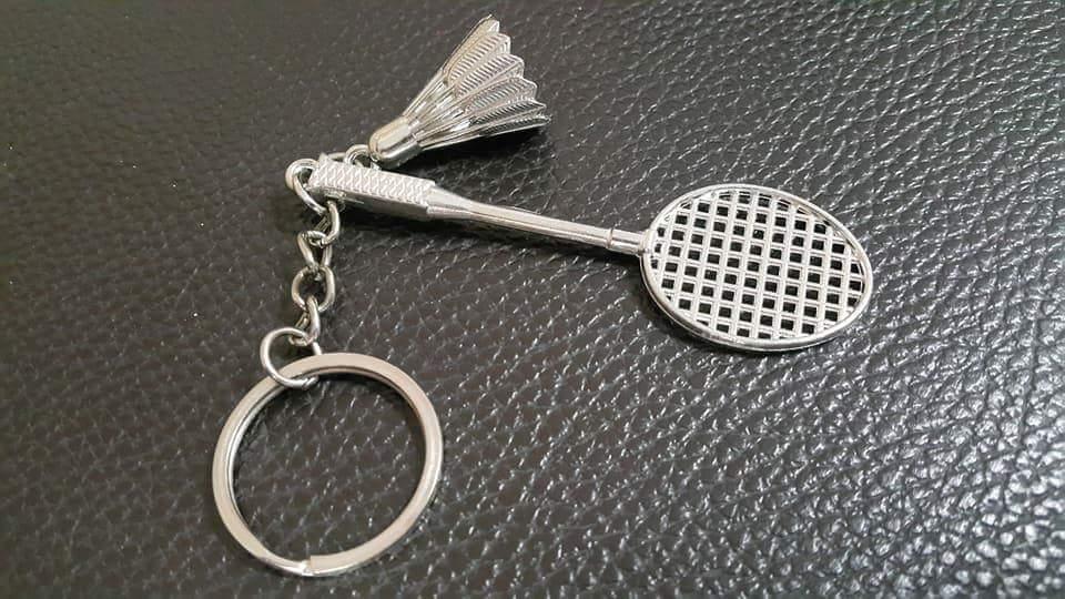 พวงกุญแจไม้แบดลูกแบดสุดเท่ห์