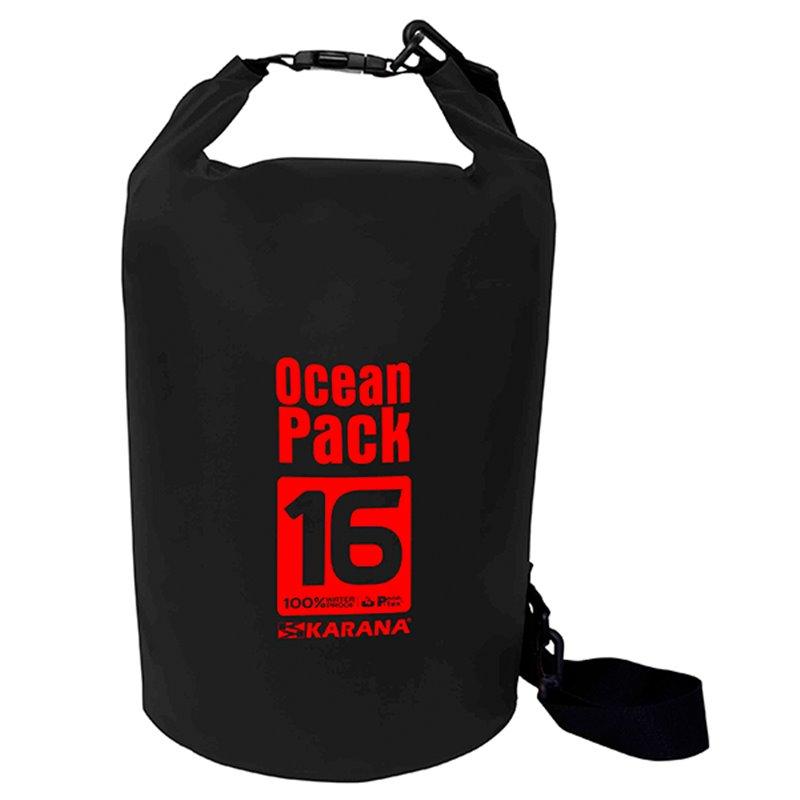 กระเป๋ากันน้ำ Ocean Pack 16L-สีดำ