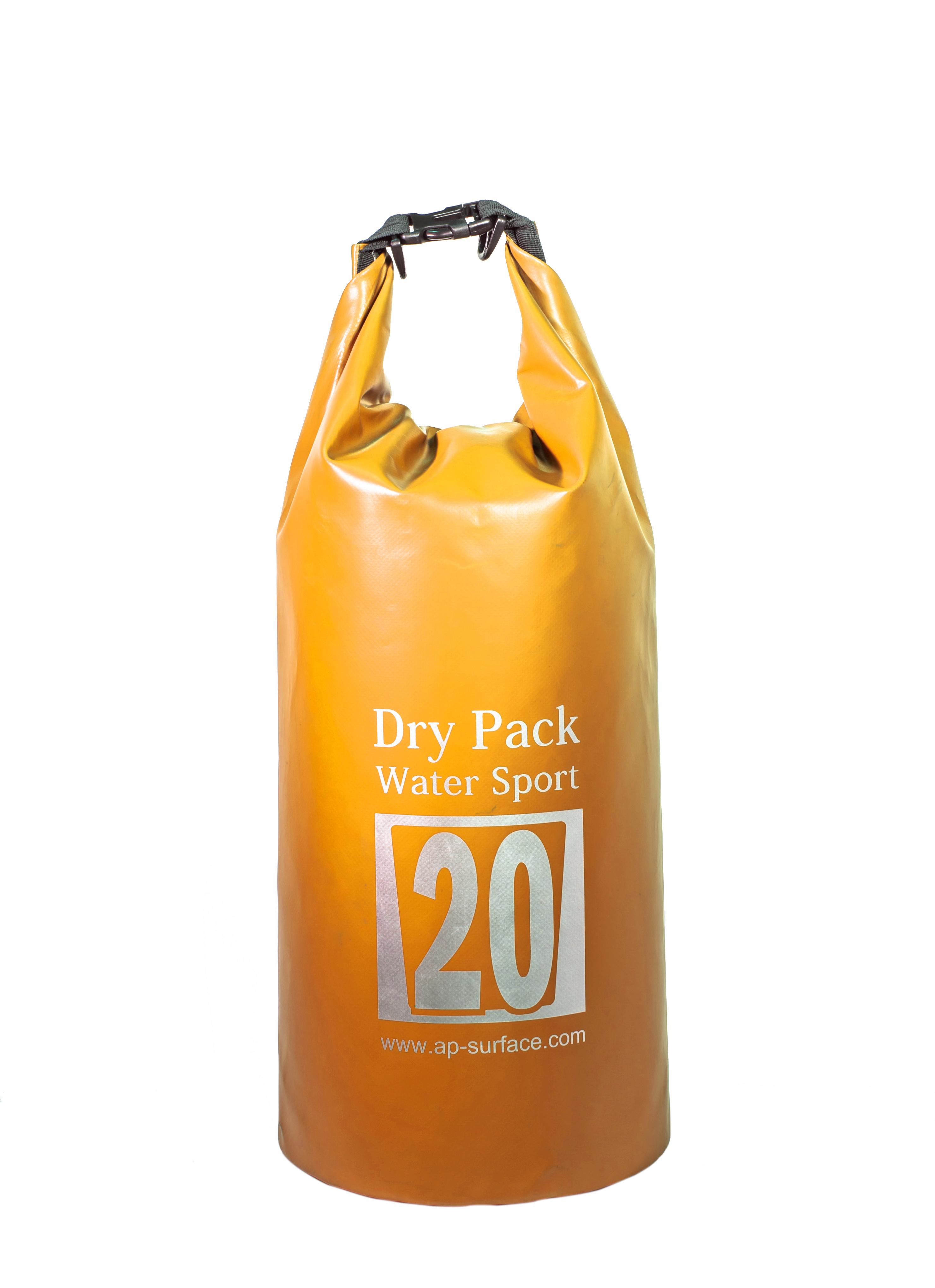 กระเป๋ากันน้ำ Dry pack 20L-สีส้ม