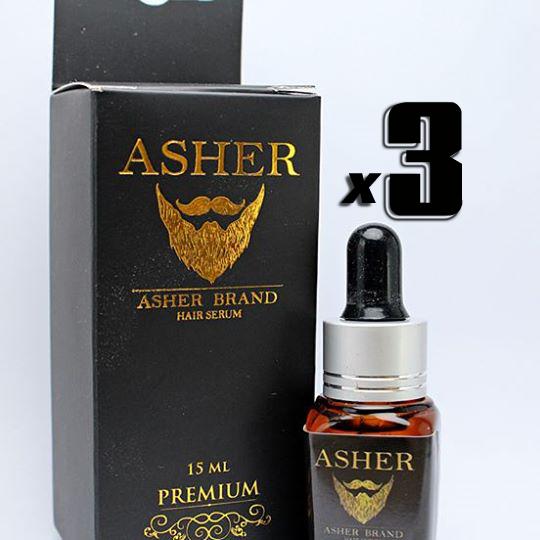 Asher สูตร Premium 15 ml. 3 ขวด
