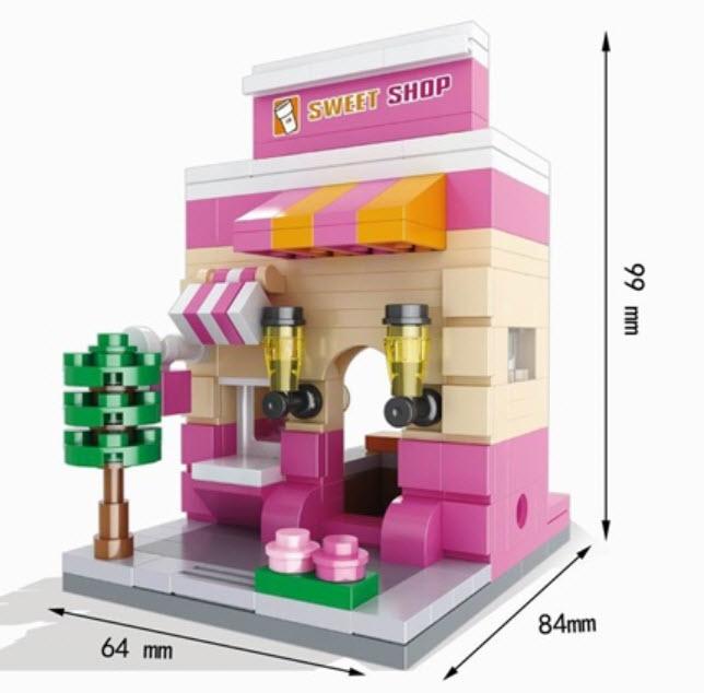 มินิโมเดล ร้าน Sweet Shop
