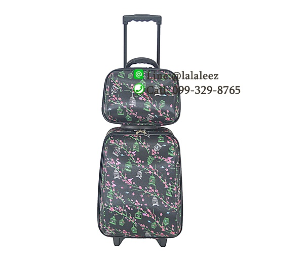 กระเป๋าผ้าเดินทางเซ็ตแม่ลูก