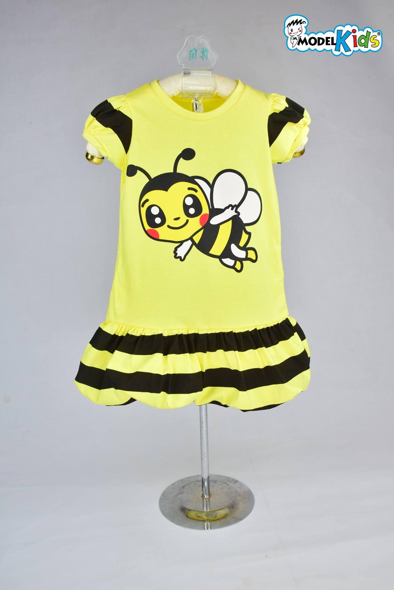 Balloon Dress ผึ้งเหลือง