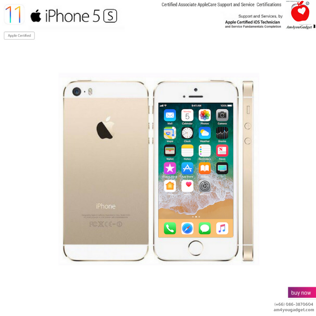 (Imported) iPhone5s 32GB - Gold