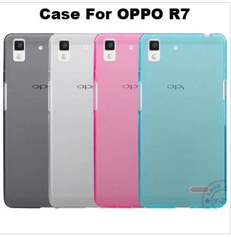 เคส oppo r7 เคสนิ่มtpu มีให้เลือก4สี